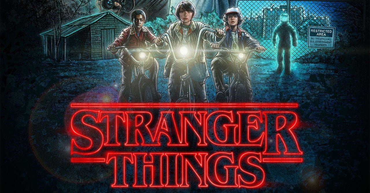 Melhores séries para aprender inglês Stranger Things