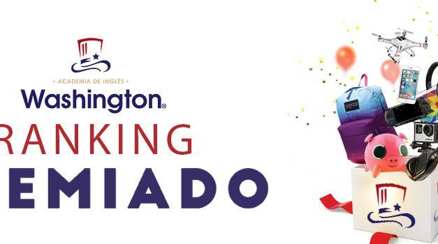 """RANKING PREMIADO""  ACADEMIA WASHINGTON FRANCHISING"