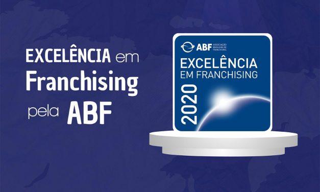Academia Washington Franchising recebe Selo de Excelência da ABF